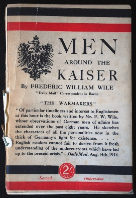 Men around the Kaiser - cover
