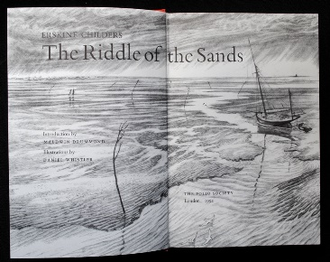 Riddle of the sands - frontis and title page