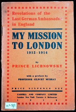 My mission to London II.e.598/3
