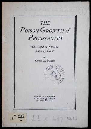 The poison growth of Prussianism II.e.607/1