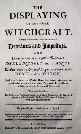 The displaying of supposed witchcraft title page
