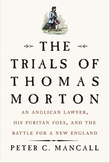 Book cover for The Trials of Thomas Morton