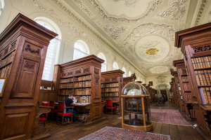 The Upper Library at Queen's