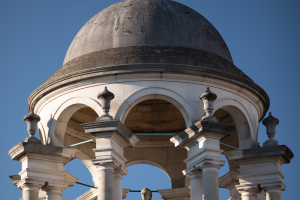 the cupola at the Queen's College