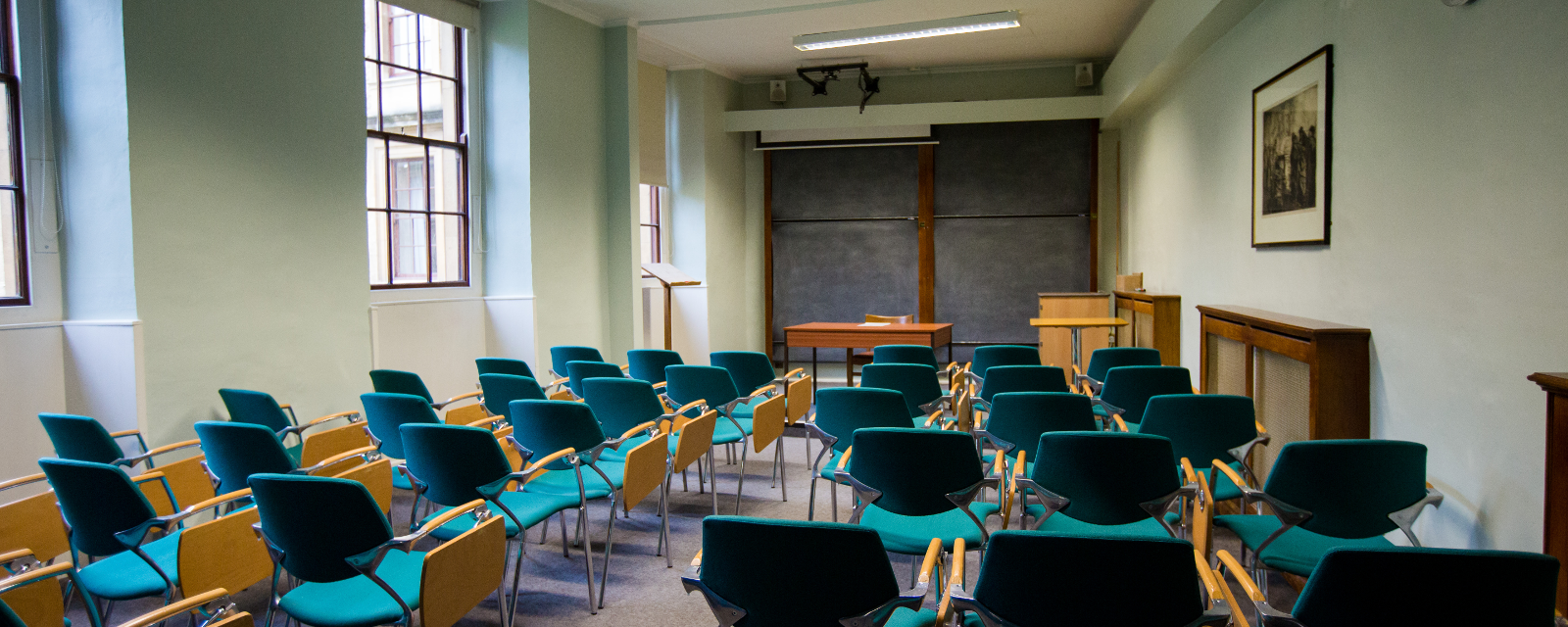 Lecture Room B The Queen S College Oxford