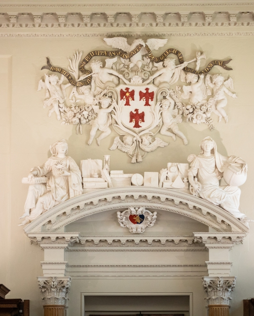 coat of arm in Upper Library