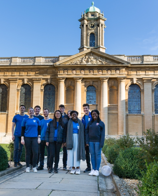 Queen's Students Open Day