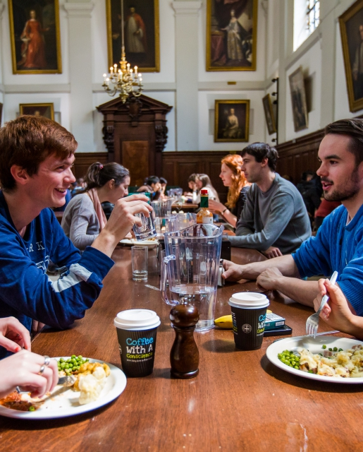 The Queen's College Dining Hall