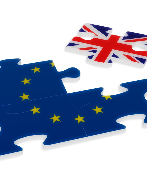 union jack as part of eu flag jigsaw