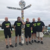 Old Members who cycled from Lands End to John O'Groats