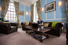 The Middle Common Room at Queen's College