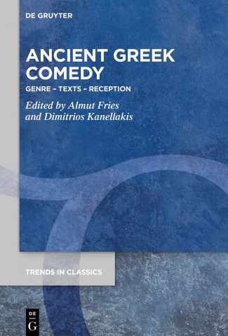 The cover of the volume in honour of Angus Bowie: 'Ancient Greek Comedy'