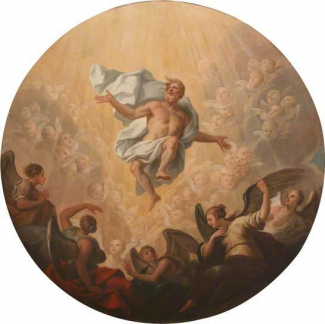 Ascension roundel by James Thornhill