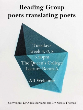 reading group flyer