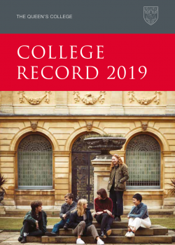 College Record 2019 cover