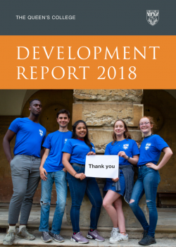 Development Report 2018 brochure cover