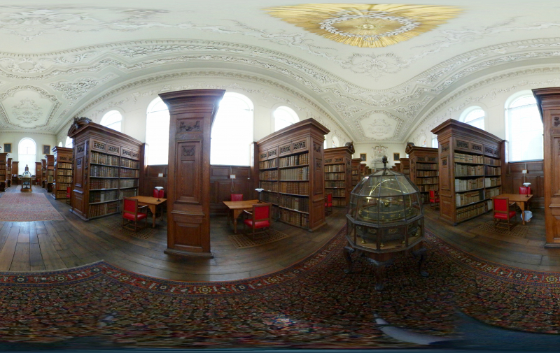 Upper Library 360 view