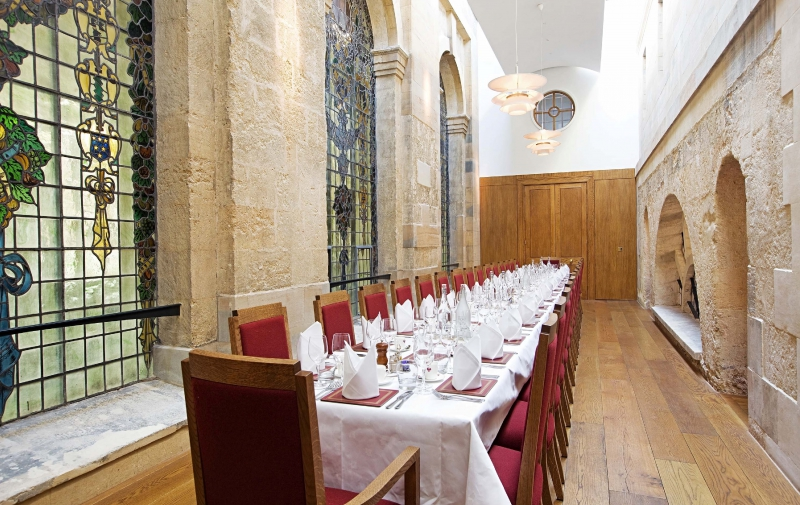The New Dining Room at The Queen's College