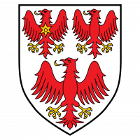 coat of arms with red eagles